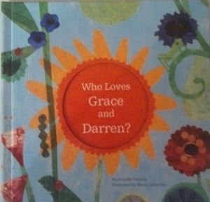 Who Loves Grace & Darren - Personalized I See Me! Book