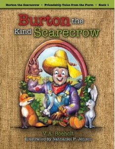 Burton the Kind Scarecrow