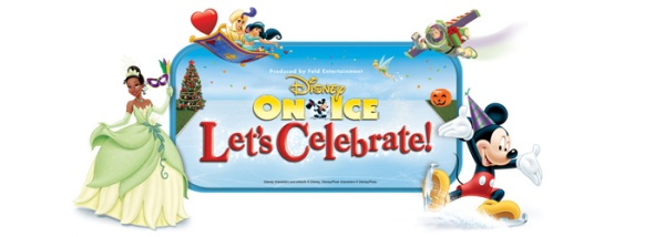 Disney On Ice Let's Celebrate logo