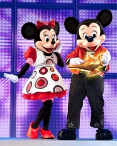 Mickey & Minnie with Genie lamp