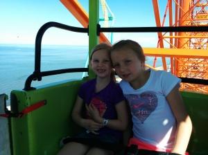 Cousins at Cedar Point