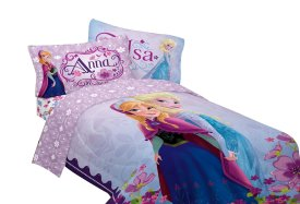 Anna & Elsa Twin Bed Set