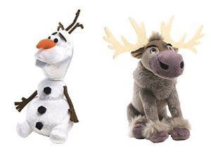 Talking Olaf and Sven Plush