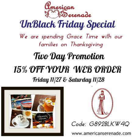 Black Friday Special 15% off